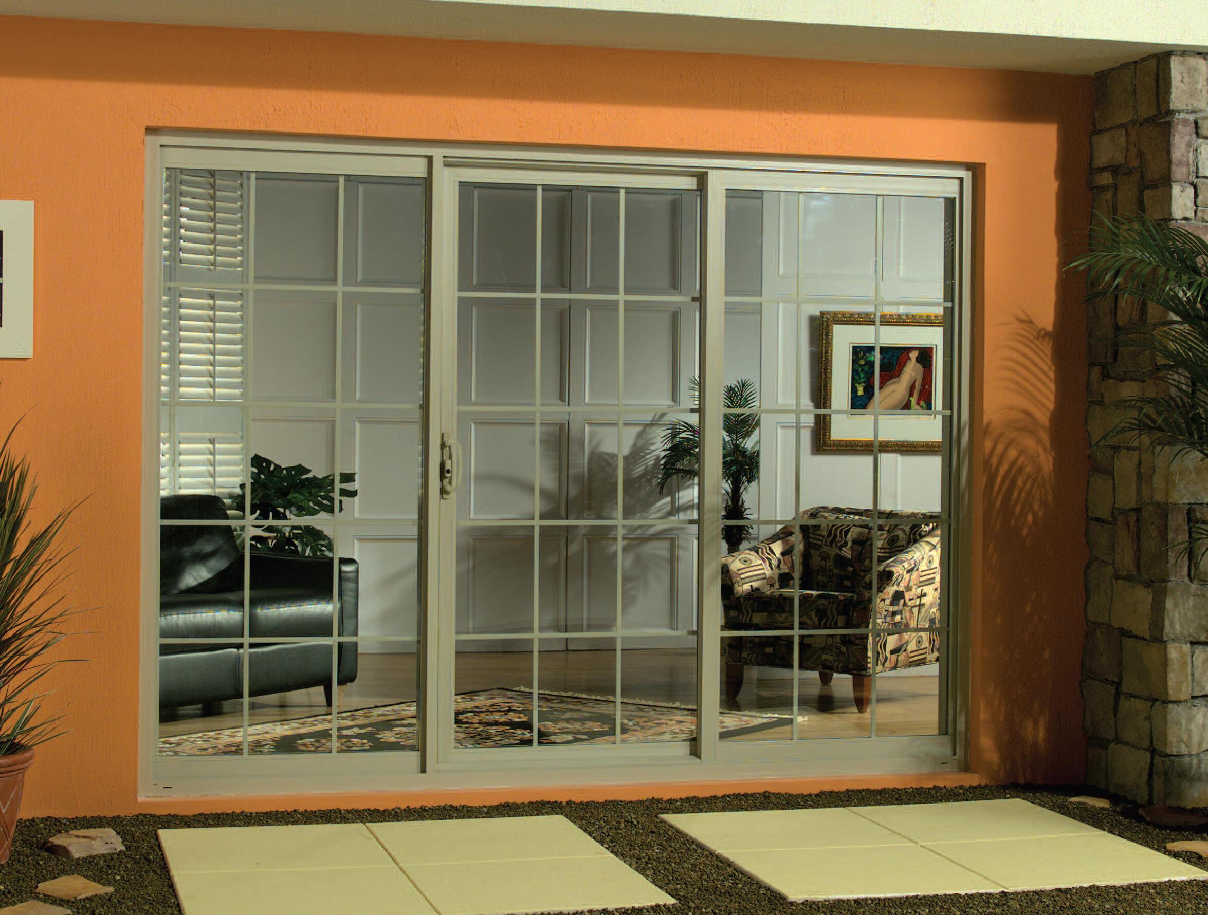 21st Century Series 7250 Vinyl Sliding Glass Door Moss